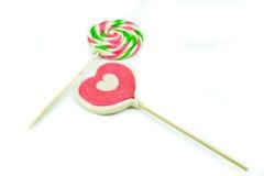 Lollipop colorido Fotos de Stock Royalty Free