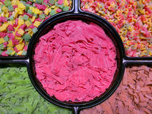 Lollipop colorido Fotografía de archivo libre de regalías