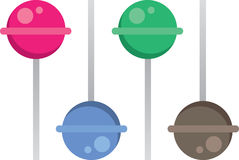 Lollipop Colors Royalty Free Stock Photo