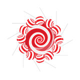 Lollipop composition Royalty Free Stock Images