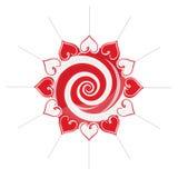 Lollipop composition Royalty Free Stock Photos