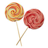 Lollipop de Swirly Imagem de Stock