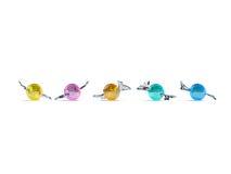 Lollipop de vidro Fotografia de Stock Royalty Free
