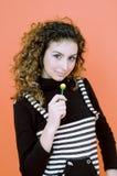 Lollipop delicioso.   Fotografía de archivo libre de regalías