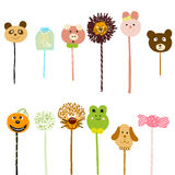 Lollipop doodle Royalty Free Stock Photo