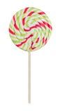 Lollipop en blanco Foto de archivo libre de regalías
