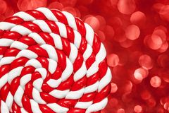 Lollipop espiral colorido Imagen de archivo