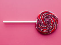 Lollipop espiral da fruta Imagem de Stock Royalty Free