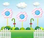 A lollipop garden Stock Photos