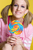 Lollipop Girl Stock Photos