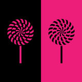 Lollipop icon great for any use. Vector EPS10. Stock Photos