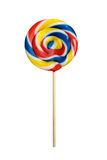 Lollipop isolado no branco Fotografia de Stock Royalty Free