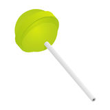 Lollipop isolated illustration Stock Image