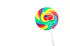 Lollipop isolated Royalty Free Stock Photo