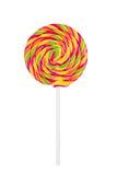 Lollipop isolato su bianco fotografia stock libera da diritti
