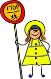 Lollipop Lady Stock Photography
