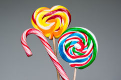 Lollipop lolly round Stock Images