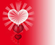 Lollipop love Royalty Free Stock Photography