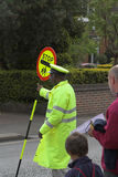 Lollipop man Stock Photography