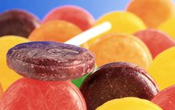 lollipop mosh κοίλωμα Στοκ εικόνα με δικαίωμα ελεύθερης χρήσης