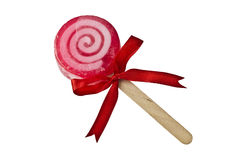 Lollipop with Ribbon Royalty Free Stock Image