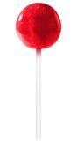 Lollipop rojo foto de archivo