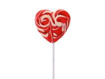 Lollipop rojo Fotos de archivo