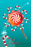 Lollipop-round Royalty Free Stock Photography