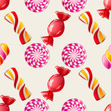 Lollipop seamless pattern Stock Images
