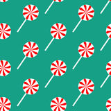 Lollipop seamless pattern Royalty Free Stock Image