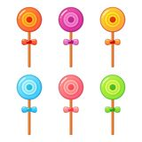 Lollipop set Stock Images