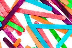 Lollipop sticks Royalty Free Stock Photos