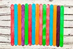 Lollipop sticks Royalty Free Stock Image