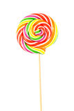 Lollipop. Sweet Vibrant Lollipop. Isolated on white background Stock Photography
