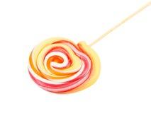 Lollipop. Sweet Vibrant Lollipop. Isolated on white background Stock Photo