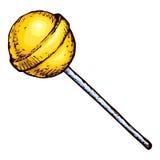 Lollipop. Vector drawing Stock Photo