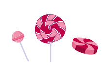 Lollipop vector illustration Stock Photo