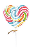 Lollipop on White background Stock Photos