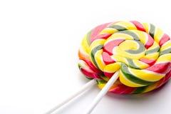 Lollipop on white Royalty Free Stock Image