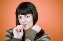 Lollipop Yummy.   foto de stock