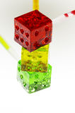 lollipops плашек colorfull Стоковые Фото