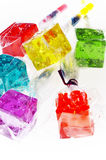 lollipops плашек colorfull Стоковое Фото