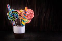 lollipops stock foto's