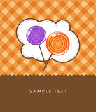 Lollipops. Famous finnish lollipops, a favorite treat children Royalty Free Stock Image