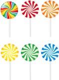 Lollipops. Set of various colorful lollipops Stock Photo