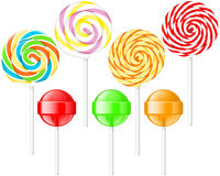Lollipops Stock Images