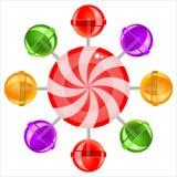 lollipops Fotografia de Stock Royalty Free