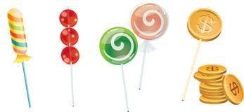 lollipops Стоковое Изображение