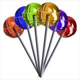 lollipops Fotos de archivo libres de regalías