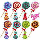 lollipops Stock Afbeeldingen